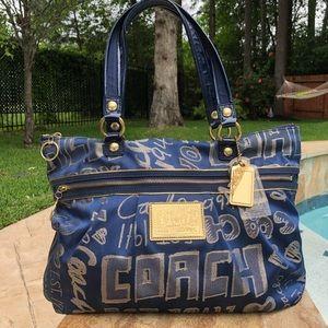 COACH Poppy Glam Bag